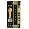 Wine Thermometer Strip; Stick on Thermometer
