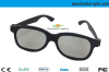 Classic 3d circular polarizer 3d glasses with colorful plastic frame for 3d image