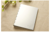 aluminium-magnesium alloy /120 sheet paper note book