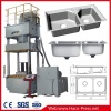 4 Post Hydraulic Press 63 tons for Stainless steel sink mould