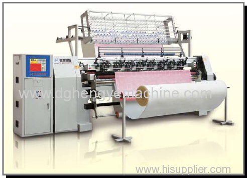 China bedding covers making lock stitch quilting machine
