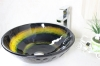 tempered glass basin transparent glass basin