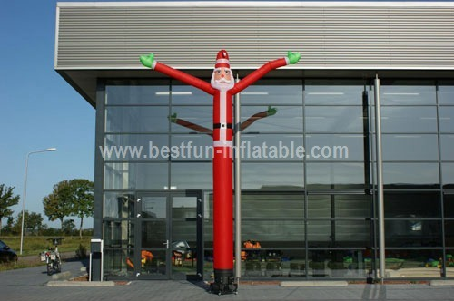 Inflatable advertising Santa Claus Sky Dancer