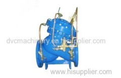 REGULATING VALVE-System pressure regulating valve