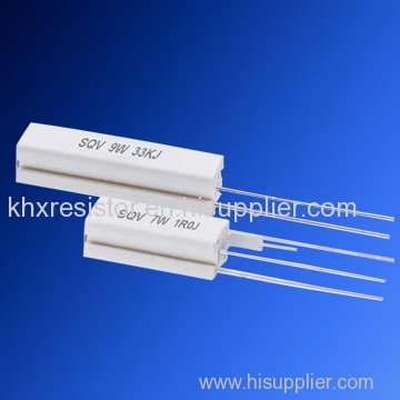 fusible wirewound ceramic resistor