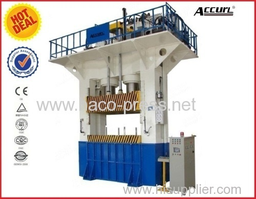 H-frame Hydraulic Press Machine 500 tons for double drainer stainless steel kitchen sink