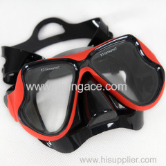 diving equipment of scuba diving mask