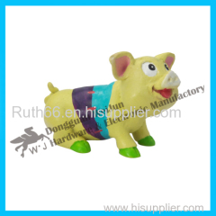 New design colorful with pig toys manufacturer