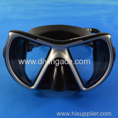 2014 hot sale full face tempered glass diving mask