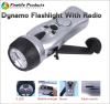 dynamo flashlight with mobile charger radio fm