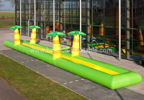 Inflatable Jungle Slide Slip for kids and adults