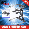 Ai7music Professional Adjustable DJ laptop stand CD stand Notebook stand Black