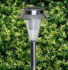 Height 660mm Plastic powdered aluminum 1W power solar lawn lamps