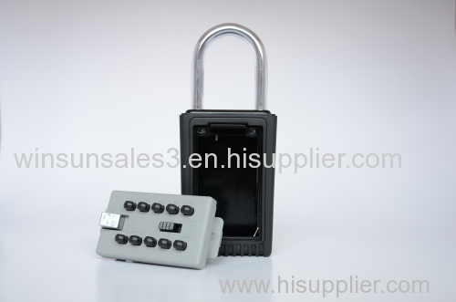 push button key lock box