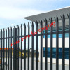 hot dipped galvanized or powder coating palisade fence