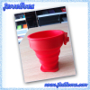Silicone Foldable cup with plastic ring manufacturer & supplier China