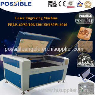 Possible manufactory custome design co2 laser engraving&cutting machine price