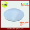17w IP20 LED ceiling with microwave sensor