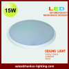 17W 35000h LED ceiling with microwave sensor