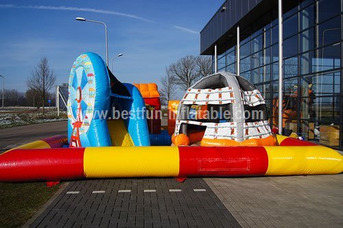 Outdoor Fun City Inflatable Playground