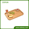 Bamboo cheese serving tray