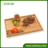 Bamboo restaurant serving tray
