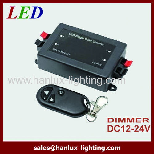 DC12V CE Adjustable Brightness Light Switch Dimmer Controller