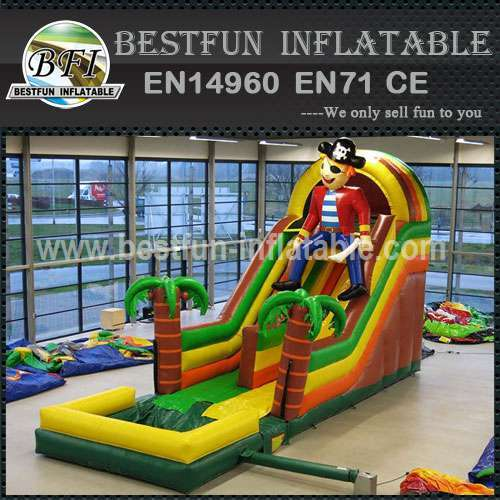 New design inflatable pirate slide