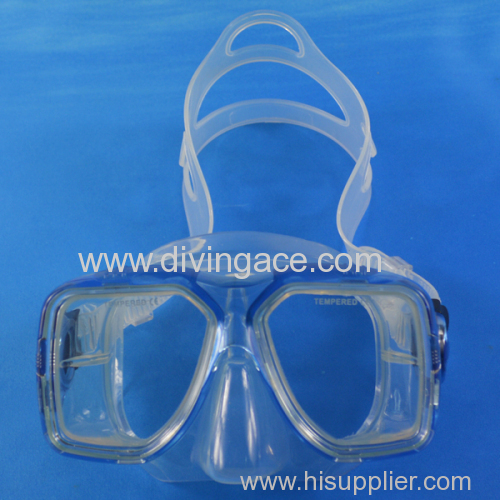 high quality scuba equipment silicone diving mask