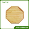 30x30cm Eight sides Bamboo Serving Tray