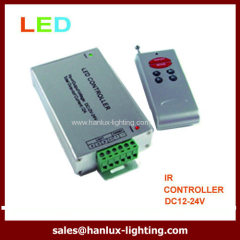 cheaper controller DC12V clamp Aluminum6-Key RF LED controller