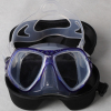 Adult professional tempered PVC scuba diving mask