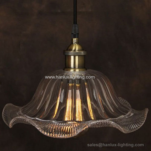 E27 metal retro light fixture
