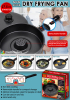 Carbon steel non-stick dry frying pan