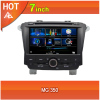 MG 350 car dvd player bluetooth ipod radio TV USB 3G Wifi canbus steering wheel 7inch touchscreen