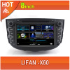 Lifan X60 car dvd player bluetooth ipod radio TV USB 3G Wifi canbus navigation gps 8inch touchscreen steering wheel