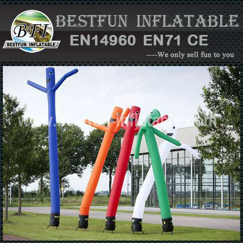 Inflatable cartoon small air dancers for sale