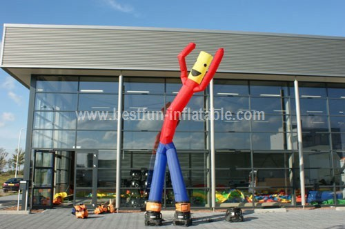 Colorful inflatable dancing man from China