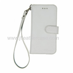 2014 New arrival white leather wallet cell phone case for iphone 6