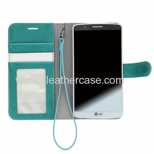 Wholesale mobile phone accessories dubai wallet cell phone case for LG g3 Shenzhen factory
