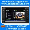 Ouchuangbo Car Head-Unit Sat Navi DVD Player for Chevrolet Excelle with digital TV Bluetooth