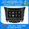 Ouchangbo car DVD dash player for Hyundai HB20 2013 with GPS navigation Radio Bluetooth iPod