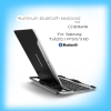laptop high quility aluminum bluetooth keyboard for samsung tab2 10.1 P7510 5100