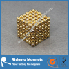 216+6 pcs 5mm Gold Plated Sphere Magnets Neocube NdFeB Magnet Balls