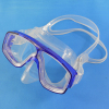 Liquid silicone rubber diving mask