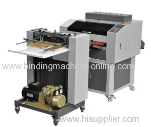 Automatic UV Coating machine with automatic paper feeder