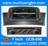 Ouchuangbo Autoradio GPS one din DVD for Renault Megane II 2002-2008