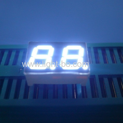 Ultra white small dual digit 0.28  7 segment led display for home appliances