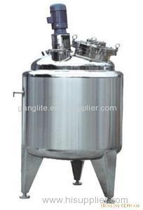 Storage tank stainless steel