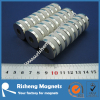 N44 china magnet D20 x d10 x 6mm dc motor permanent magnet